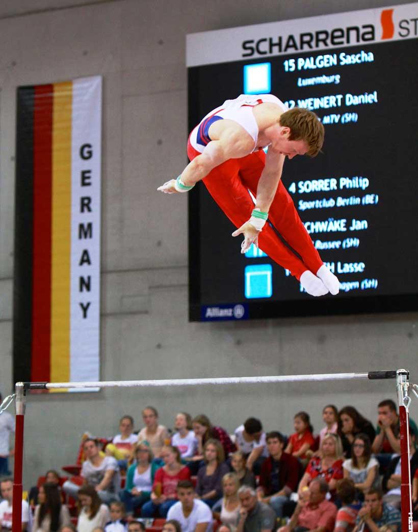 Jan Damrau steht den Sechskampf durch