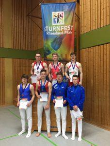 Rheinland-Pfalz Meisterschaften beim Landesturnfest 2016 in Pirmasens
