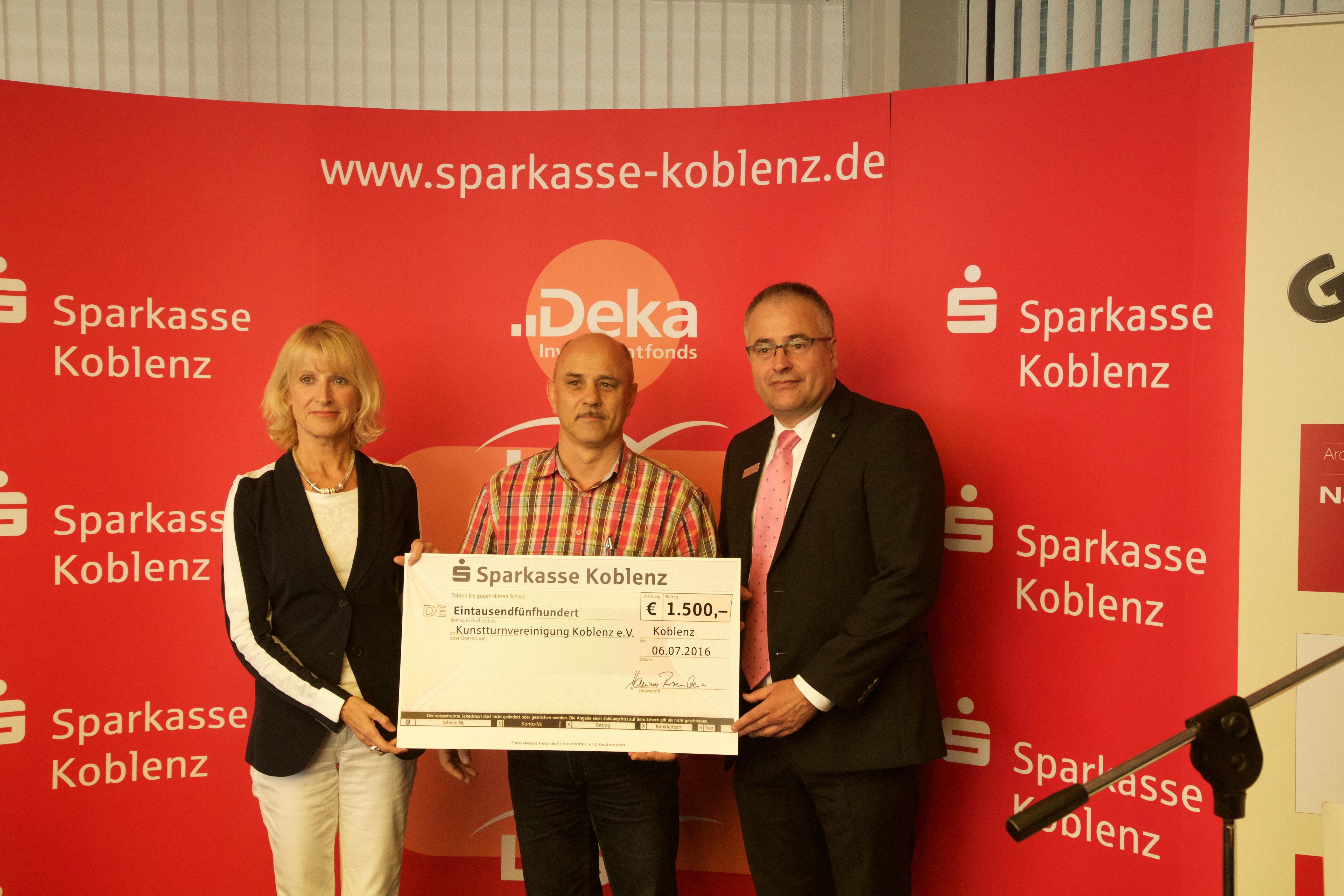 Förderung der Stadtsportstiftung Koblenz